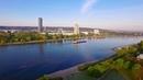 Morgenstimmung am Rhein in Bonn in 4k