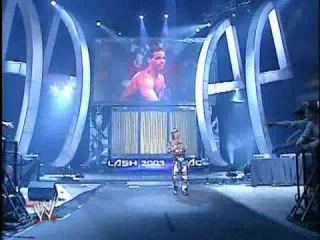 HBK, Backlash 2003 entrance