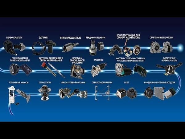 ERA - автоэлектрика из Италии - обзор продукции.