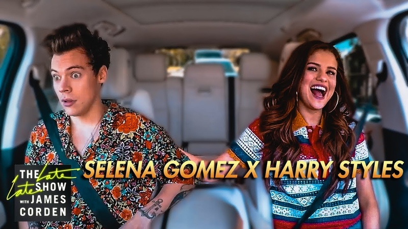 Selena Gomez Harry Styles Carpool Karaoke