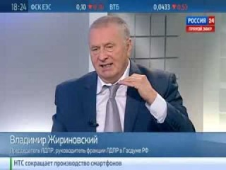 Жириновский: погромы в Бирюлёво заказаны и проплачены / 23.10.2013