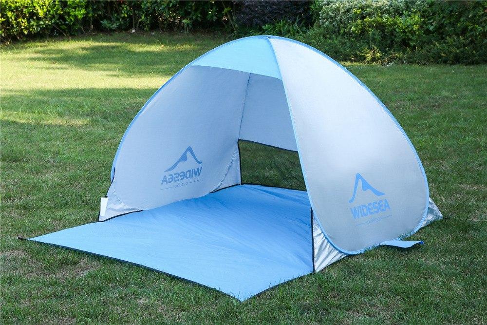 Пляжная полуоткрытая палатка