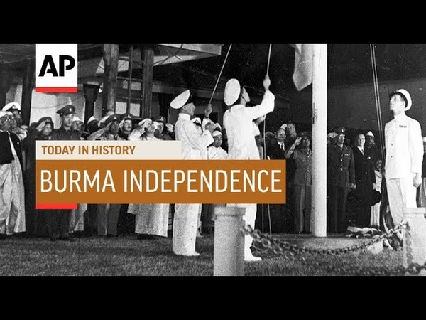 Burma Independence - 1948 | Today In History | 4 Jan 19