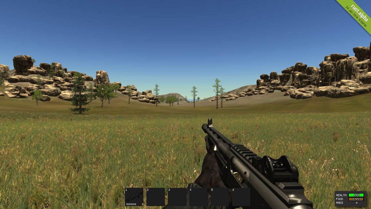 Как выглядит Shotgun в Rust