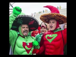Лучшие наряды Фестиваля болельщиков FIFA!