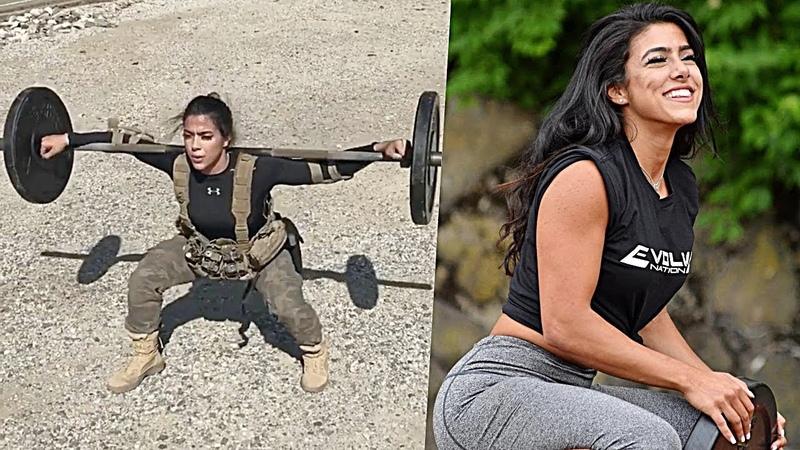 TÜM ŞARTLAR ALTINDA İDMAN YAPABİLEN KIZ 💪🏻 HEBA ALI Fitness Motivasyon