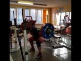 Алексей Никулин - присед 227,5 кг с 2 паузами