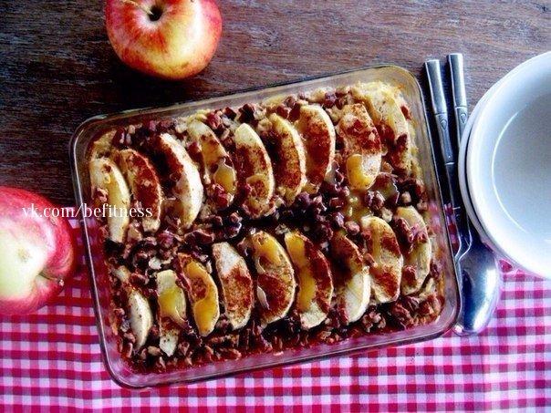 Яблоки в овсянке! (1 фото) - картинка