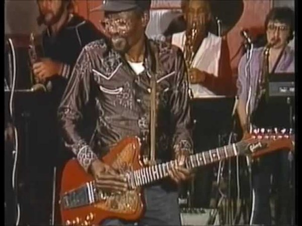 Clarence Gatemouth Brown Pressure Cooker New Orleans 1984 official HQ video