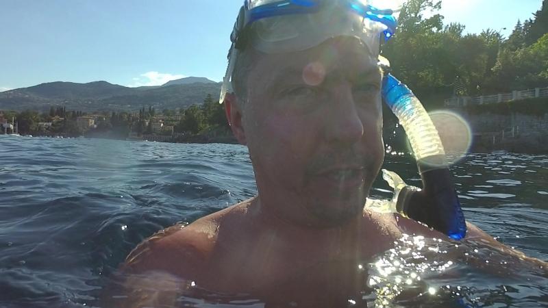 Ныряем на задержке дыхания, глубина 10 метров