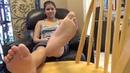 Yo girl candid sexy Feet Fettish priviledgebella feet worship femdom