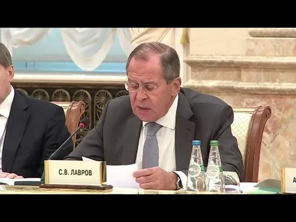 Лавров обеспокоен войсками США у границ Беларуси