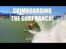 First Ever Skimboarding Kelly Slater Surf Ranch!! Austin Keen