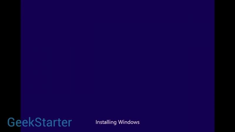 [GeekStarter] Установка Windows 8 RTM без диска и флешки от GeekStarter.net