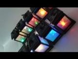 Waterproof RGB LED Solar Lantern