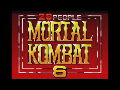 Mortal Kombat 6 28 People Hack Genesis Longplay
