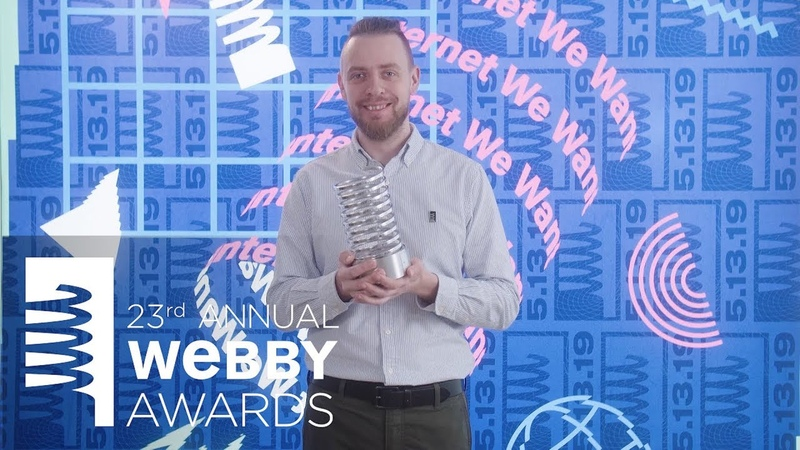 Red Collar's 5 Word Speech at the 23rd Annual Webby Awards