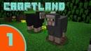 Игра как мультик Minecraft – создай свой собственный CraftLand в Майнкрафт 1 Серия