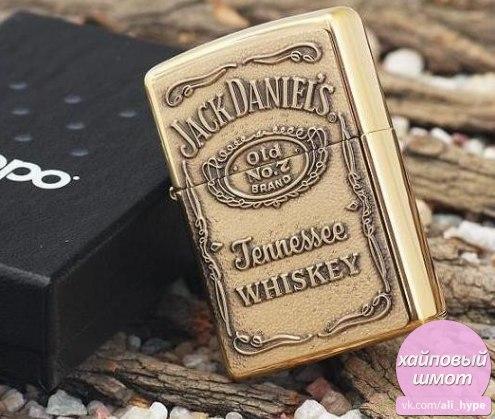 Коллекционная зажигалка Zippo Jack Daniels -