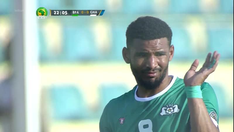 Кубок Африки U20 2019 В1 040219 Буркина Фасо Гана
