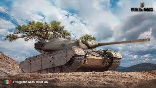 Progetto M35 mod 46/ Повержен но не сломлен World of Tanks