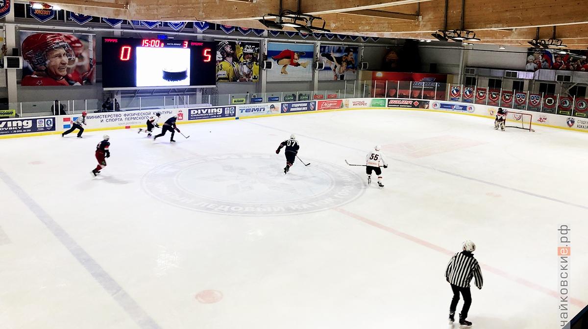 хоккей, чайковский, 2019 год