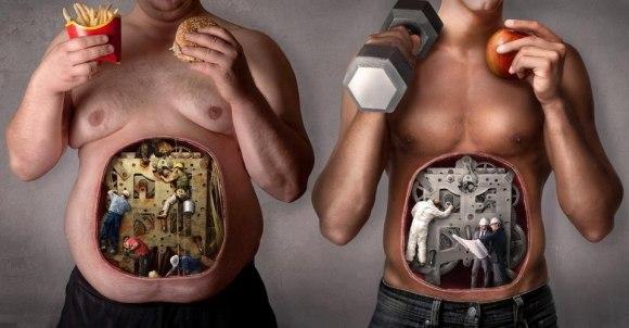 как высушить жир на животе видео