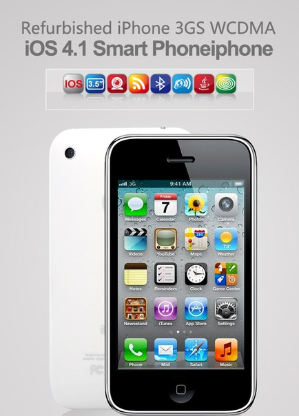 Refurbished iPhone 3GS