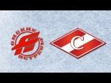 Омские Ястребы - МХК Спартак 6:2   Omskie Yastreby - JHC Spartak 6:2