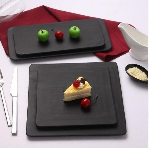 Керамические матовые доски для подачи закусок и десертов