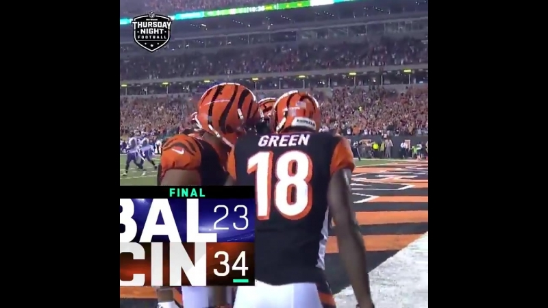 FINAL The Bengals WIN on TNF! SeizeTheDEY BALvsCIN