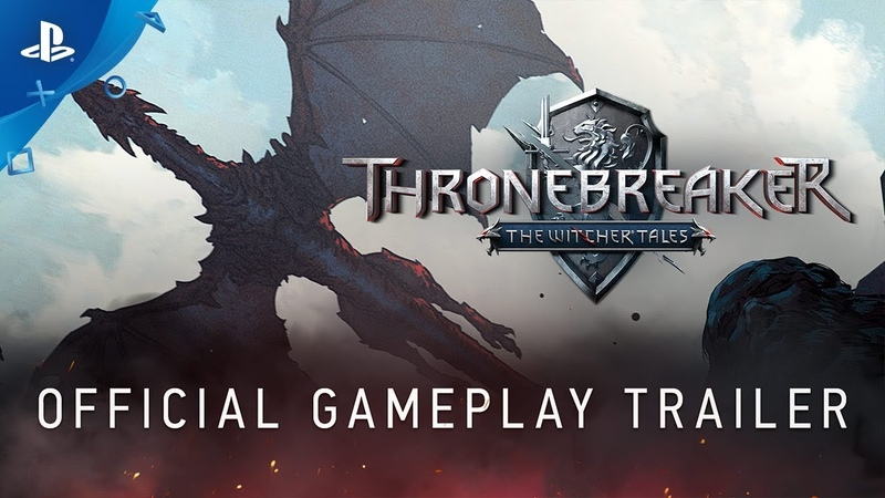 Thronebreaker The Witcher Tales - Gameplay Trailer | PS4