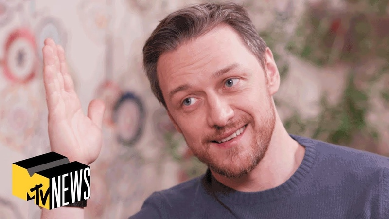 James McAvoy On 'Glass', The Future Of X-Men 'It: Chapter 2'   MTV News