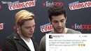 Shadowhunters Dominic Sherwood and Matthew Daddario name Otp, Brotp, and Notp from NYCC 2016