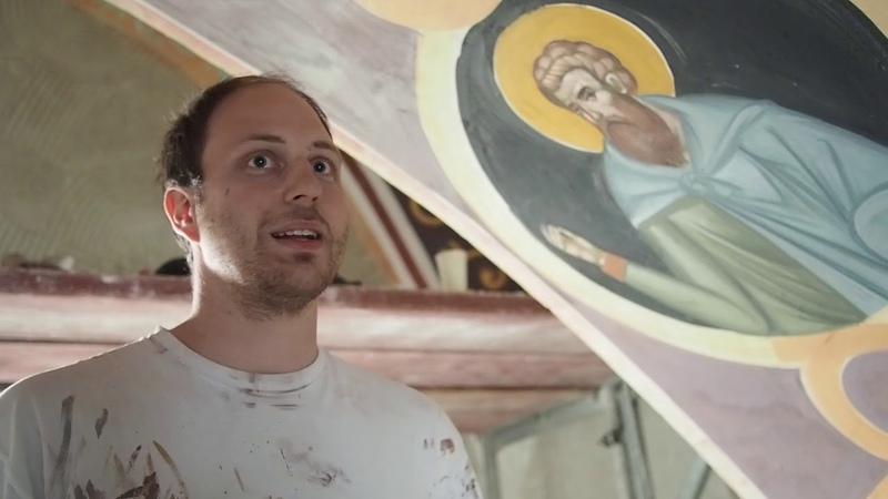 В Супрасльском монастыре возобновлена роспись Благовещенского собора