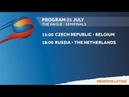U20 The Hague : RUS - NED
