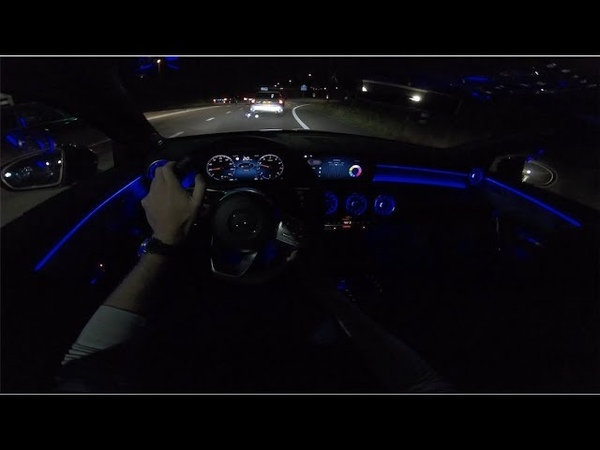 2019 Mercedes Benz A Class | AMBIENT LIGHTING | POV Night Drive by AutoTopNL
