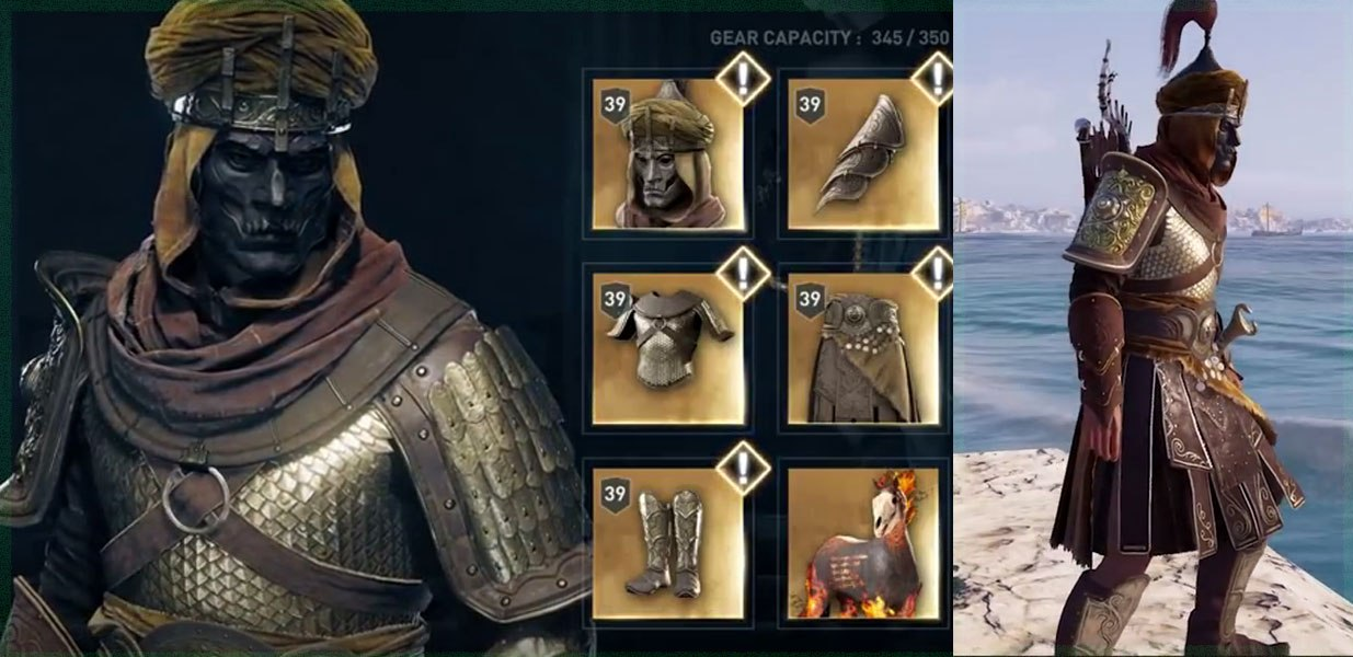 Набор легендарной брони Бессмертного в Assassin's Creed Odyssey