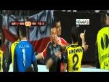 Gökhan Gönül sakatlandı. (Benfica [3-1] Fenerbahçe) [02-05-2013]