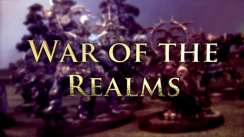 Orcs Goblins vs Flesh Eaters Age of Sigmar Battle Report - War of the Realms Ep 115