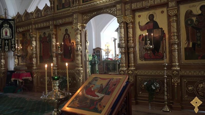 «Херувимская песнь» в праздник Преподобных Сергия и Германа Валаамских 24 сентября 2018
