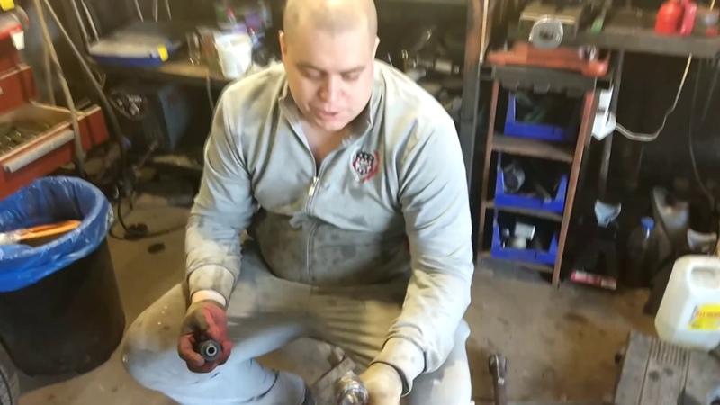 В Garage гайд Как легко запрессовать сайлентблоки с помощью шуруповерта