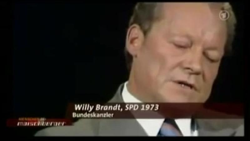 1964 millionster Gastarbeiter Ausländerfrage Brandt Schmidt
