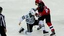 Jamie Benn Miles Wood Engage In Old-School, Classic Hockey Fight