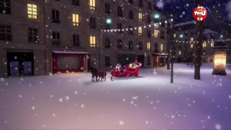 Леди Баг и Супер Кот Нуар рождество