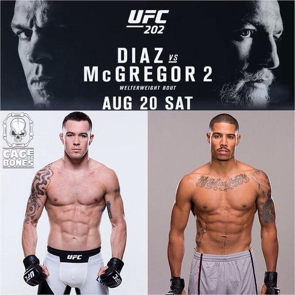 UFC Newcomer Max Griffin Vs. Colby Covington @ UFC 202
