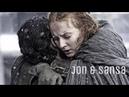Jon sansa тронешь мою сестру и сам тебя убью