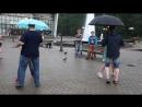 Танцы на Театральной Площади-Open air под дождём-15.07.2018 - 00