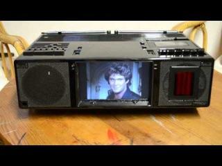 KNIGHT RIDER KITT TV Tape Radio Gerät aus der Folge Junk Yard Dog/ Soul Survivor