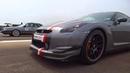 Audi 200 turbo quattro 20v vs Nissan GTR Nismo SOUND ACCELERATION